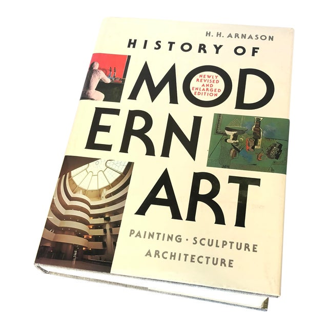 1980s Vintage History of Modern Art Coffee Table Book For Sale