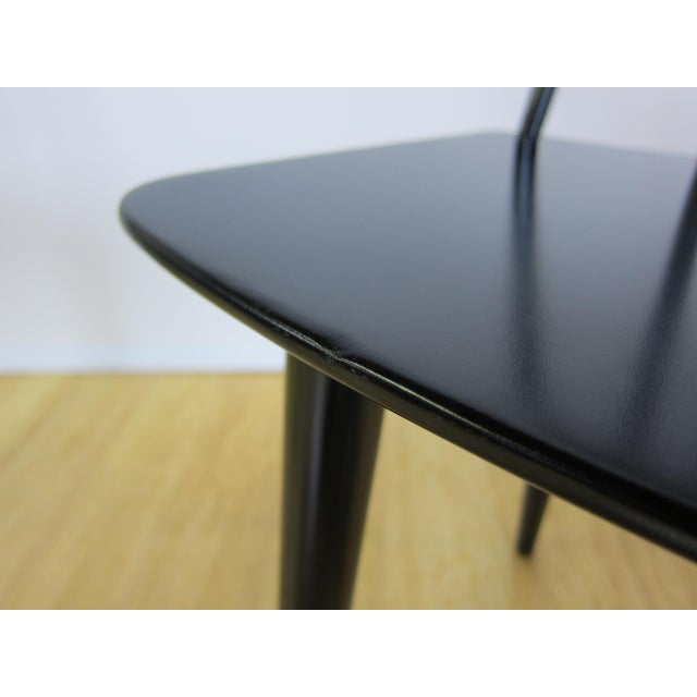 Black 1968 Folke Palsson Black J77 Chairs for Fdb Mobler - a Pair For Sale - Image 8 of 10