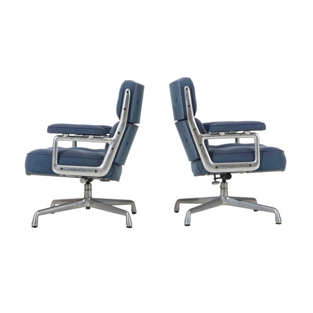 Time Life Lounge Chairs by Charles Eames for Herman Miller For Sale - Image 9 of 9