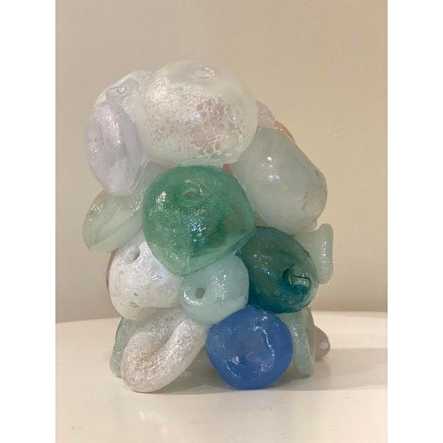 Modern Blown Glass Art Sculpture For Sale In Little Rock - Image 6 of 13