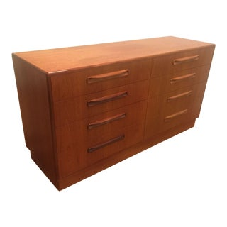 Vintage G-Plan Fresco Lowboy Dresser