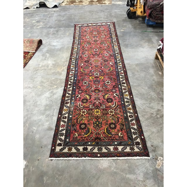 "Karajeh Persian Runner - 2'9"" x 9'9"" - Image 2 of 10"