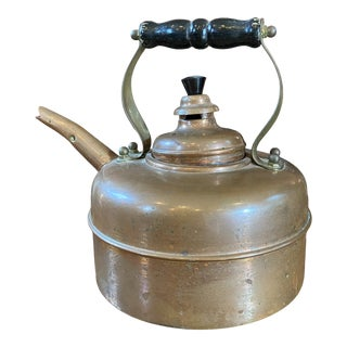 Simplex Whistling Two-Part Tea Kettle For Sale