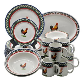 Image of Folk Art Dinnerware