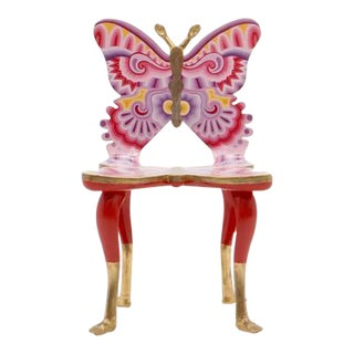 Signed Pedro Friedeberg Butterfly Chair an Exceptional Example For Sale