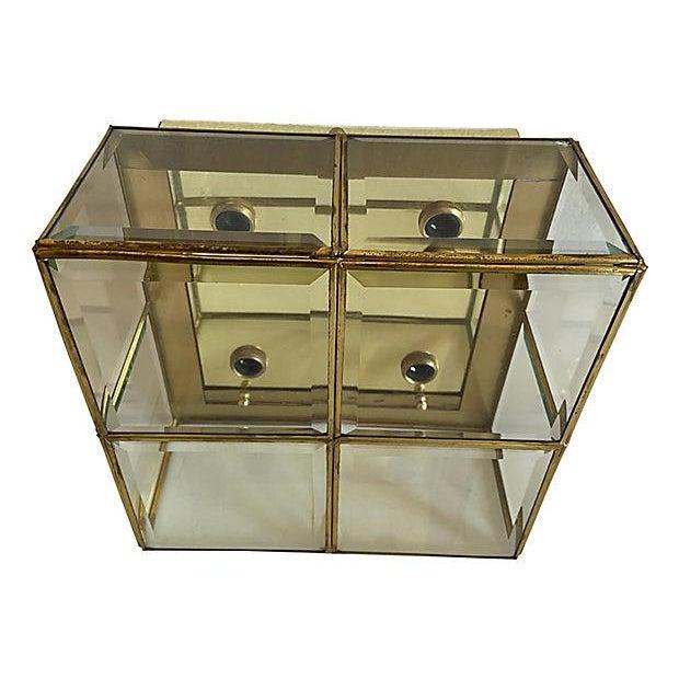 Transparent Lightolier Jewel Box Flush Light For Sale - Image 8 of 12
