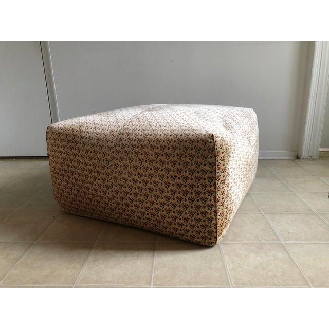 "1970s Original ""Le Bambole"" Sofa With Ottoman - 2 Pieces For Sale - Image 5 of 13"