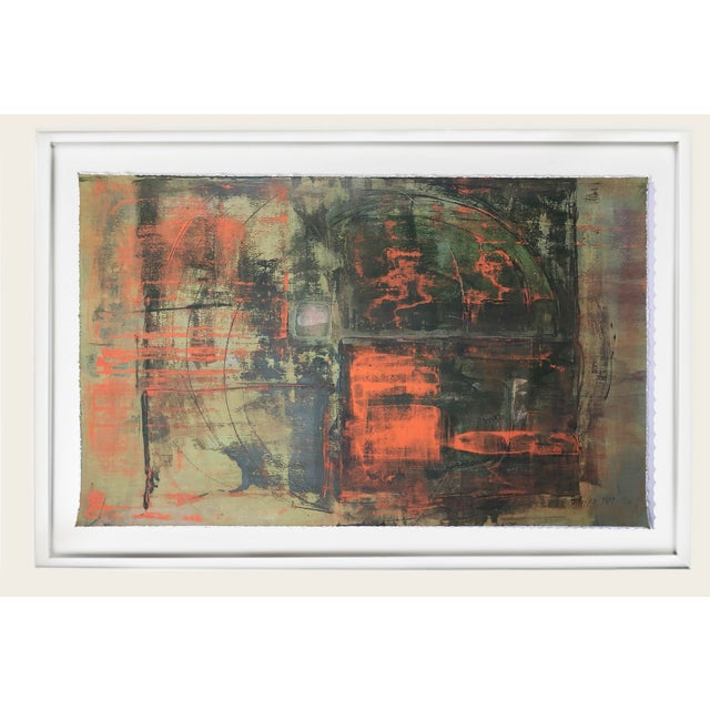 This lively original painting on hand cut heavy stock brings a pop of life to any room. See the others in the series, too,...