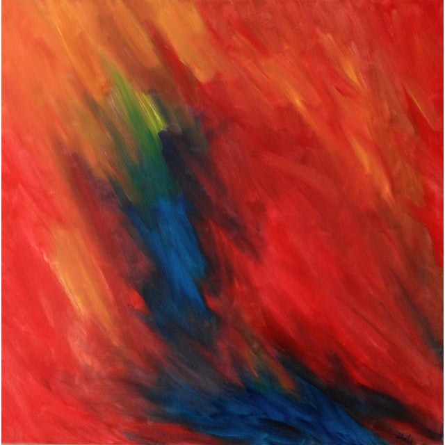 Tim Hale Limited Edition on Canvas - The Fire For Sale