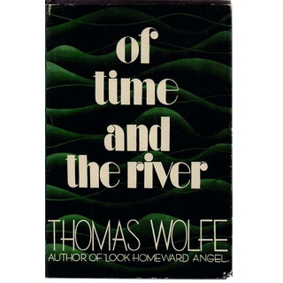 "1935 ""Of Time and the River: A Legend of Man's Hunger in His Youth"" Collectible Book For Sale"