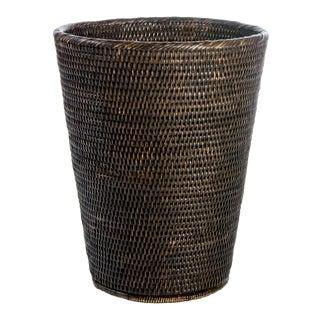 Artifacts Rattan Round Taper Waste Basket