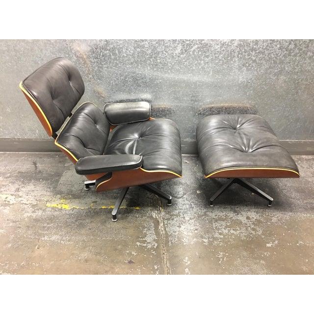 Herman Miller Lounge Chair + Ottoman - Image 2 of 10