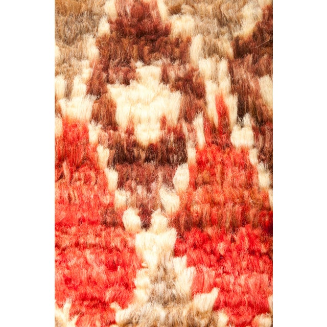 "Tullu Hand Knotted Area Rug - 4' 3"" x 6' 0"" - Image 3 of 4"