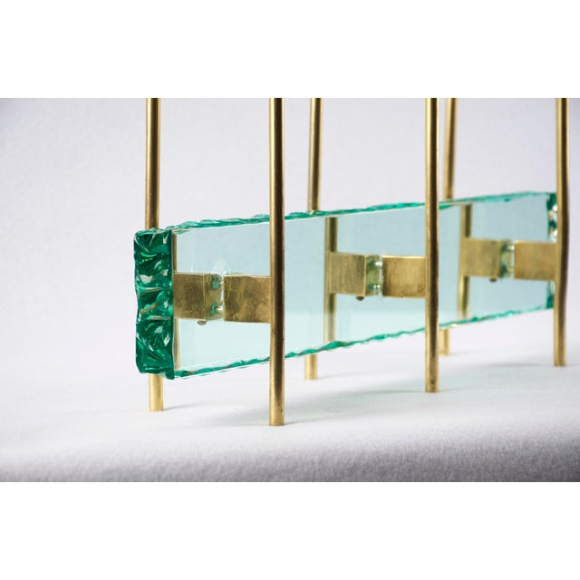 Brass Fontana Arte Candelabrum by Max Ingrand, 1960's For Sale - Image 7 of 11