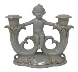 Image of Neoclassical Revival Candle Holders