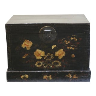 Late 19th Century Chinese Painted Chest For Sale