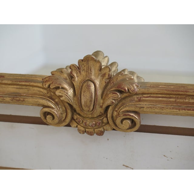 Labarge Gold Gilt Mantle Or Sideboard Horizontal Mirror Age: Approx: 20 Years Old Details: Quality Construction Large...