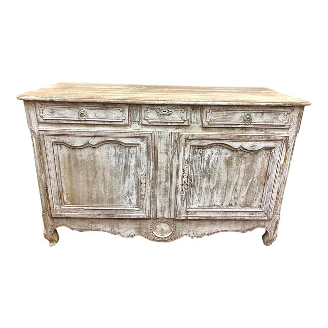 Early 19th Century French Washed Buffet For Sale