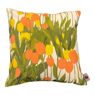 "16"" Pillow in In Bloom Fabric, Sun Shine For Sale"