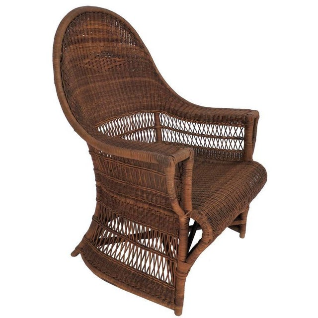 """Gold """"Guests Welcome"""" Chair by Dryad & Co. For Sale - Image 8 of 8"""