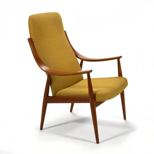 Peter Hvidt & Orla Mølgaard-Nielsen High Back Easy Chair For Sale - Image 11 of 11