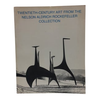 1969 Twentieth Century Art Nelson Rockefeller MoMA Book For Sale