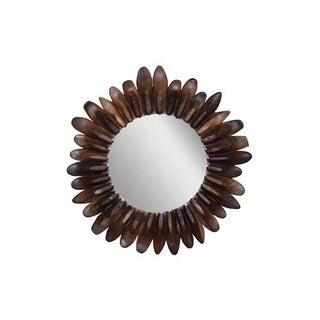 Contemporary Brookhaven Sunflower Mirror