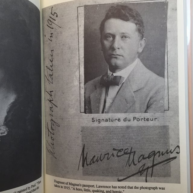 Paper Memoir of Maurice Magnus D. H. Lawrence Book For Sale - Image 7 of 9