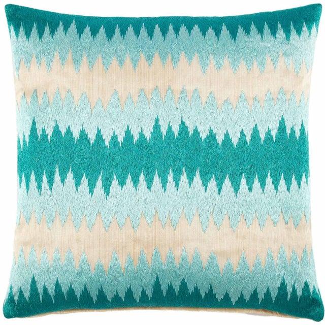 John Robshaw Poro Pillows - A Pair - Image 1 of 2