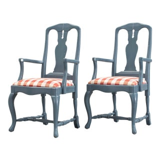 1970s Baroque Armchairs- A Pair For Sale