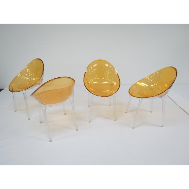 1990s Philippe Starck Kartell Mr. Impossible Chairs- Set of 4 For Sale - Image 9 of 9