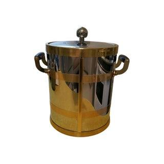 Mid Century Modern Kraftware Ice Bucket For Sale