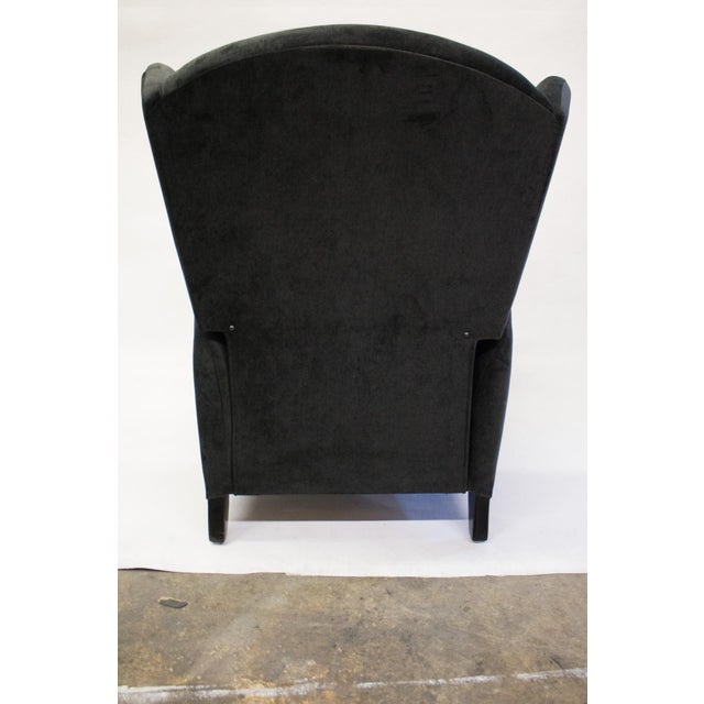 Mid-Century Reclining Wingback Chair - Image 8 of 8