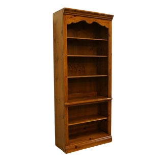 "Ethan Allen Chateau Normandy French Country 34"" Bookcase For Sale"
