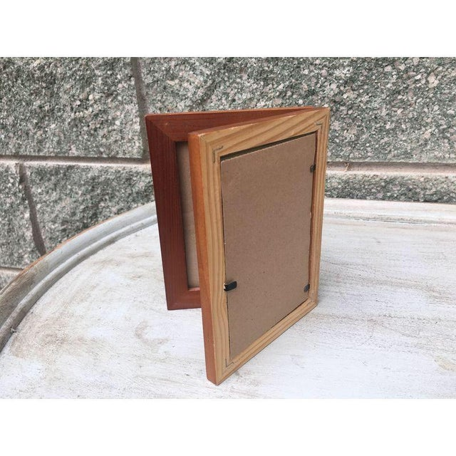 Rustic Wood Double Picture Frame - Image 4 of 4