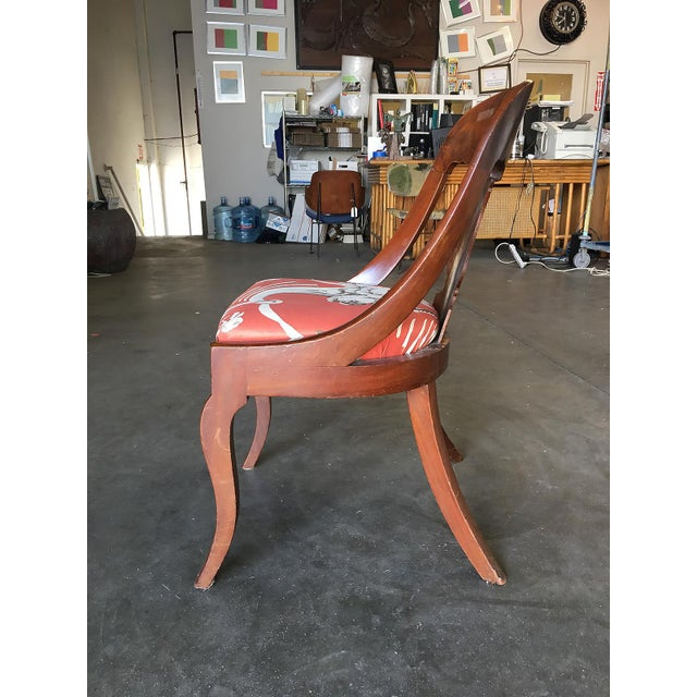 Streamline Art Deco Mahogany Side Chairs, Set of Two For Sale In Los Angeles - Image 6 of 6