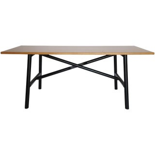 Wood Dining Table Desk
