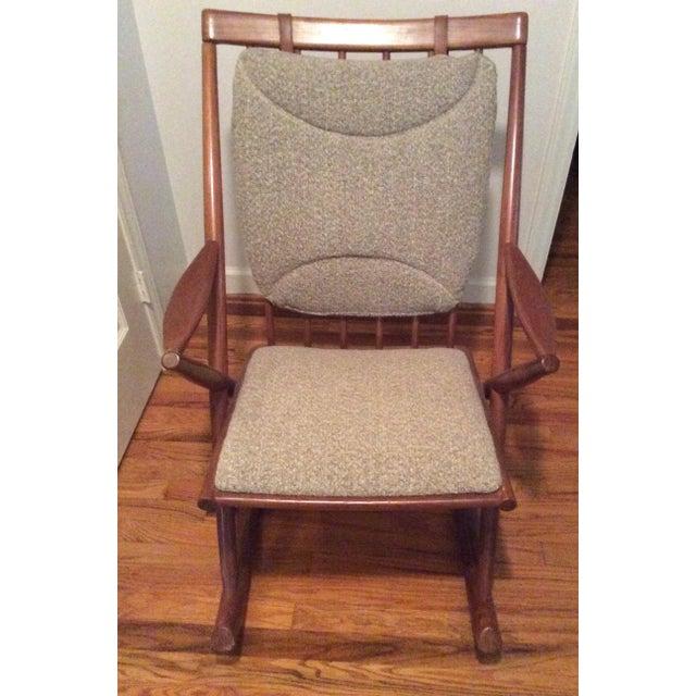 Bramin Style Mid-Century Danish Rocking Chair - Image 2 of 11