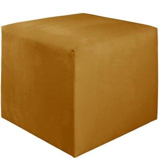 Cube Ottoman in Monaco Citronella