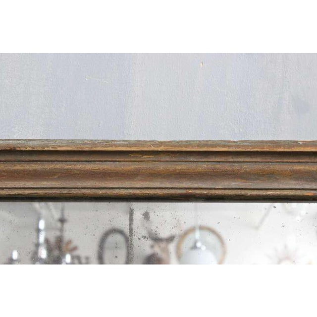 French Mercury Mirror with Wooden Back - Image 6 of 11