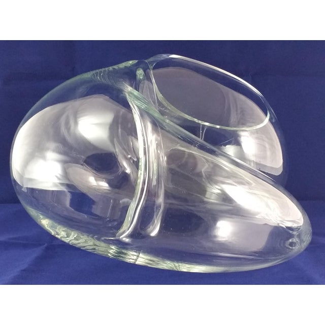 John Bingham Vintage John Bingham Biomorphic Glass Sculpture For Sale - Image 4 of 11