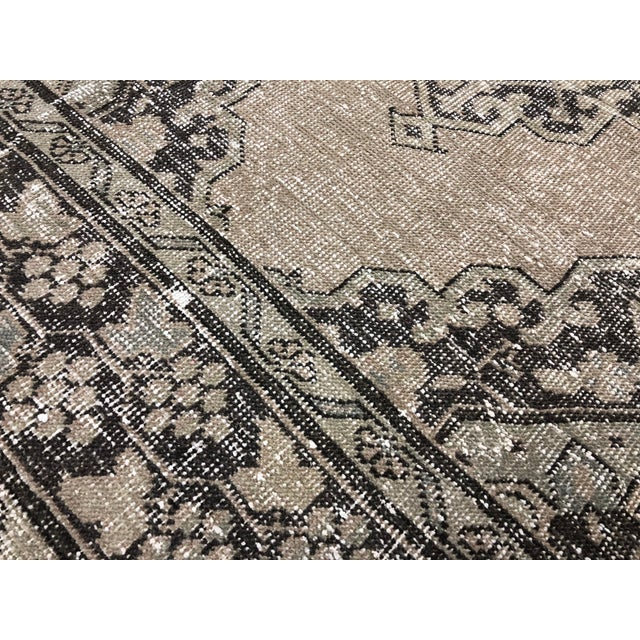 Oushak Handknotted Tribal Runner Rug - 2′9″ × 11′4″ For Sale In Austin - Image 6 of 8