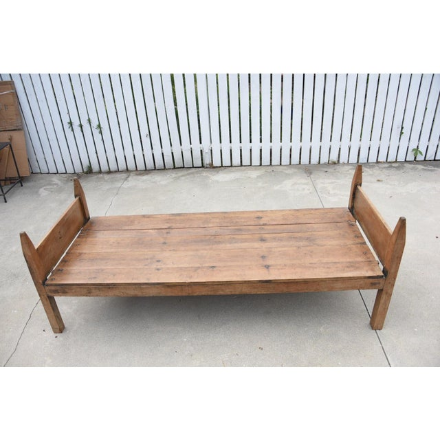 19th Century French Wooden Daybed For Sale In Los Angeles - Image 6 of 9