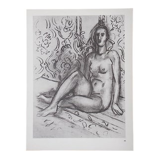 Vintage Matisse Lithograph For Sale