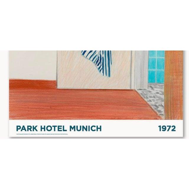 1972 David Hockney Park Hotel Munich Original Exhibition Poster For Sale In Tampa - Image 6 of 6