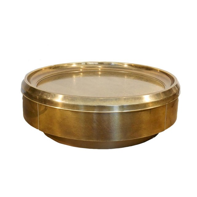 Brass Mid 20th Century Mastercraft Coffee Table For Sale - Image 7 of 7