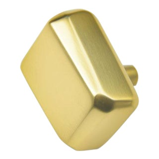 Bryon Pull - Large - Satin Brass For Sale