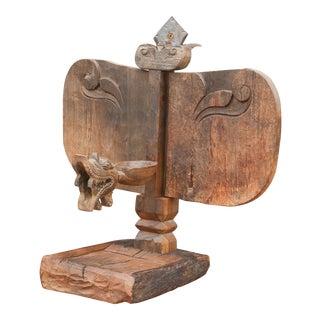 Primitive African Wooden Carved Altar Sculpture For Sale