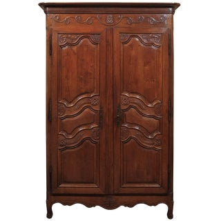Small 19th Century Oak Armoire