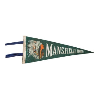 Mansfield Ohio Felt Flag For Sale